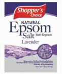 Epsom Salt 16oz Bag Lavender