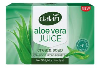 Dalan 3pk Bar Soap Aloe Vera