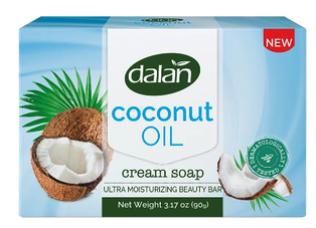 Dalan 3pk Bar Soap Coconut Oil