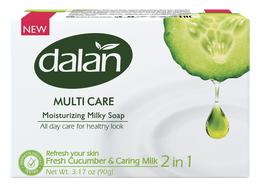 Dalan 3pk Bar Soap Cucumber Milk