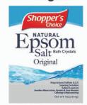 Epsom Salt 16oz Bag Original