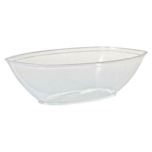 Luau Heavy Weight Plastic Serving Bowl