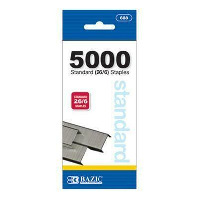 500ct Standard Staples