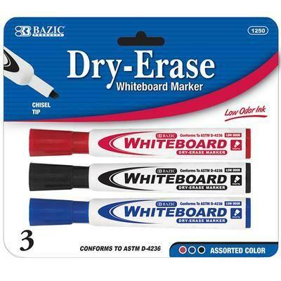 Colored Chisel Tip Dry-Erase Marker
