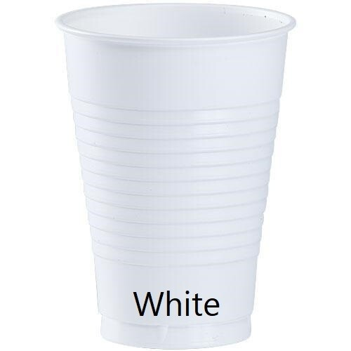 Plastic Cup 12oz (Assorted Colors)