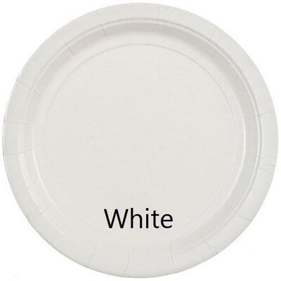 """Paper Plate 9"""" (Assorted Colors)"""