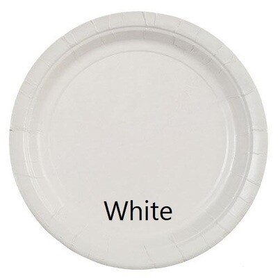 """Paper Plate 7"""" (Assorted Colors)"""