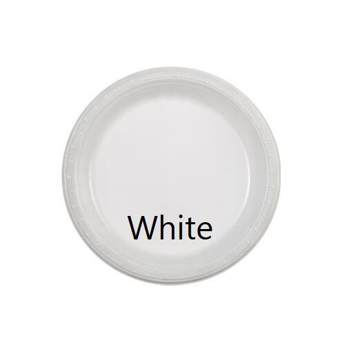 """Plastic Plate 7"""" (Assorted Colors)"""