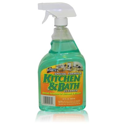 Kitchen & Bath Cleaner 32 Oz.