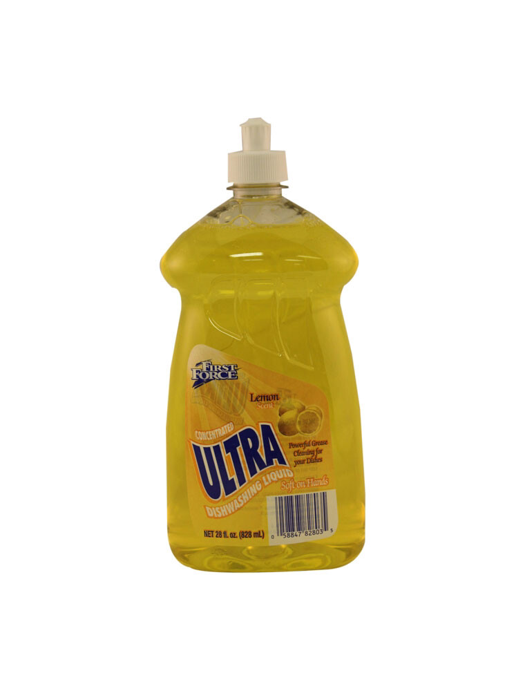 Ultra Dish Liquid 28 Oz Lemon