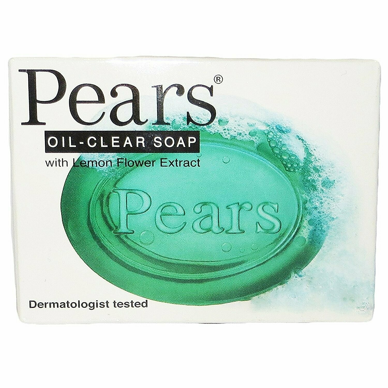 Pear 3.5oz Oil Clear Bar Soap