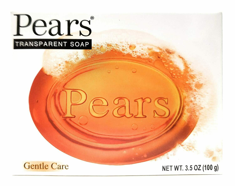 Pear 3.5oz Gentle Care Transparent Bar Soap