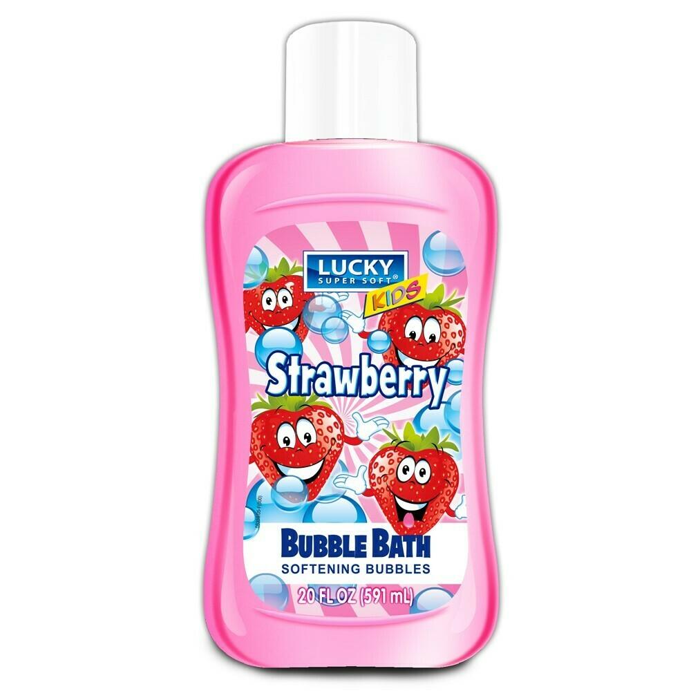 Lucky Bubble Bath 20 fl oz Strawberry for Kids