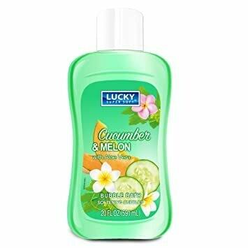 Lucky Bubble Bath 20 fl oz Cucumber & Melon