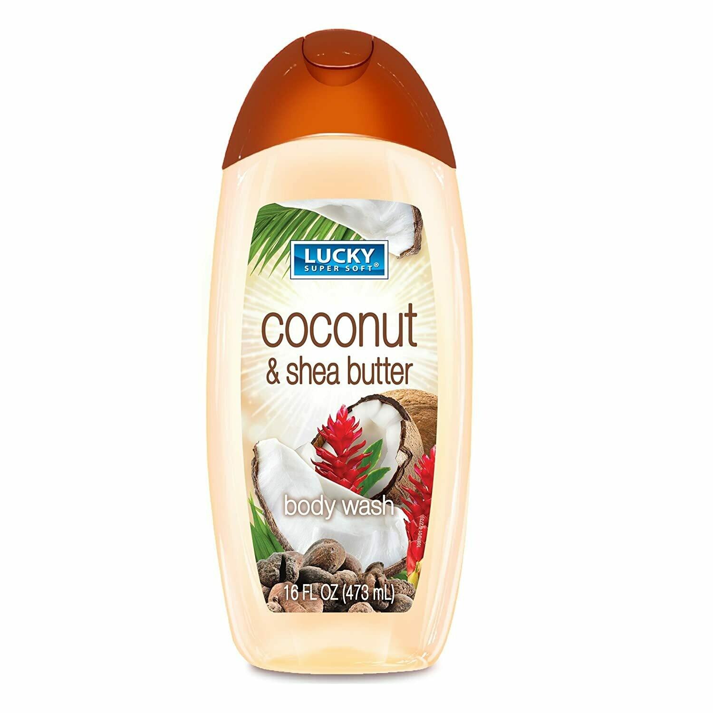 Lucky Body Wash 16oz Coconut & Shea Butter