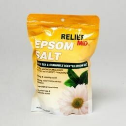 Epsom Salt 16oz Bag Chamomile