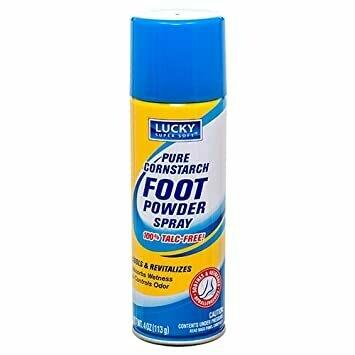 Cornstarch Foot Powder Spray 4oz