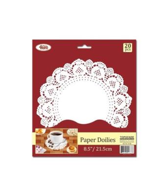"""Round Paper Dollies 8.5"""""""