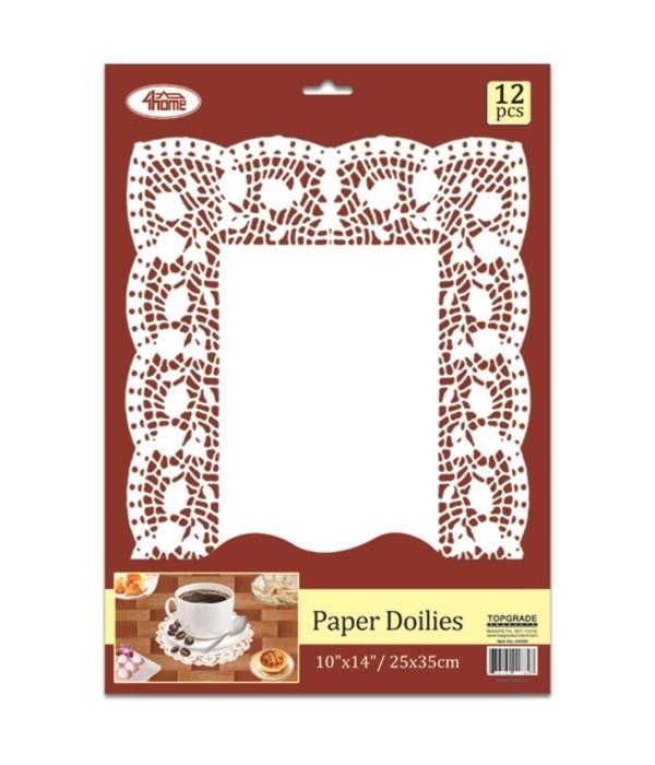 Rectangular Paper Dollies 12count