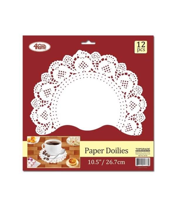 """Round Paper Dollies 10.5"""""""