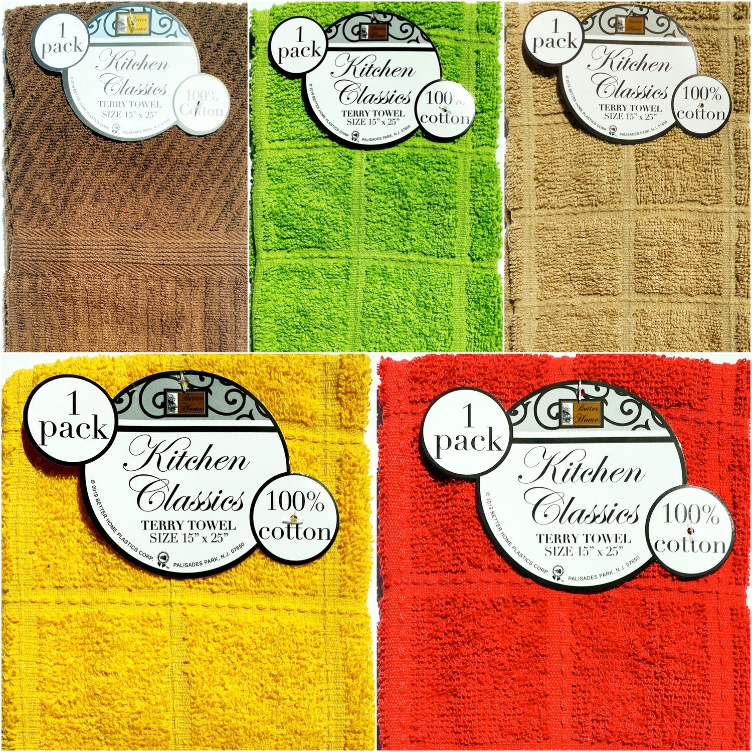 Deluxe Hand Towel: Solid Colors 1pk