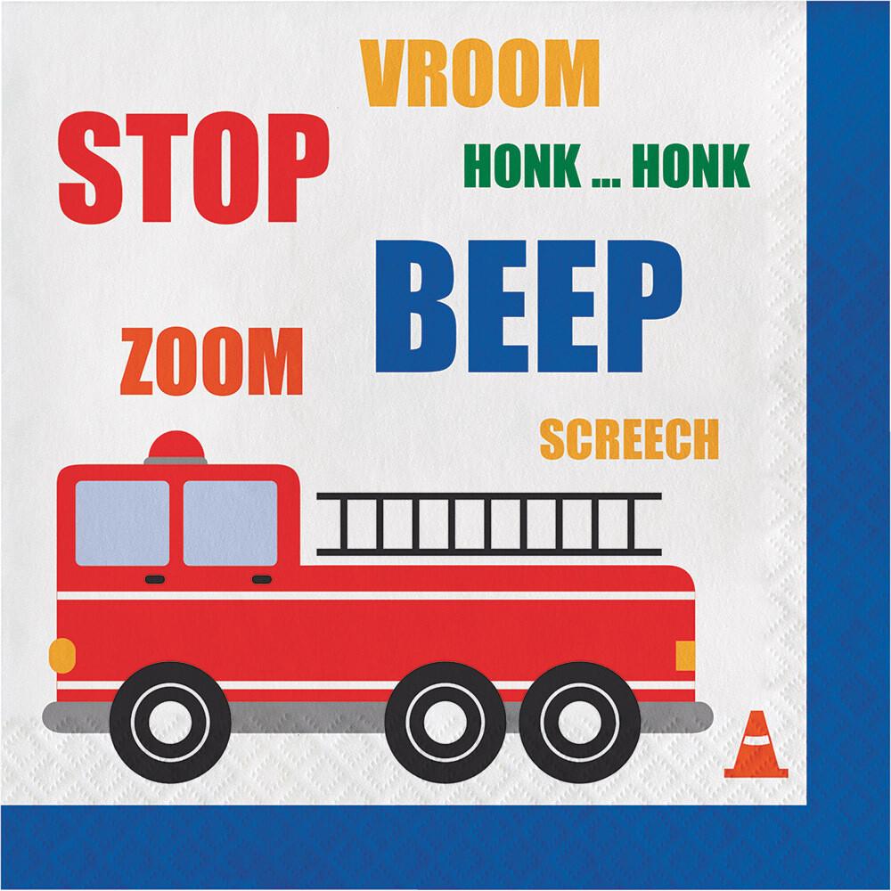 Lunch Paper Napkin: Traffic Jam
