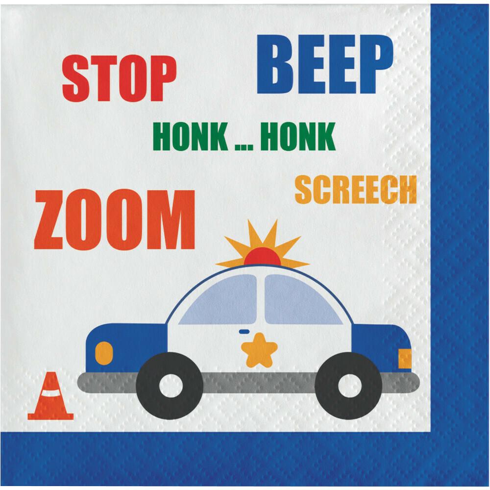 Beverage Paper Napkin: Traffic Jam