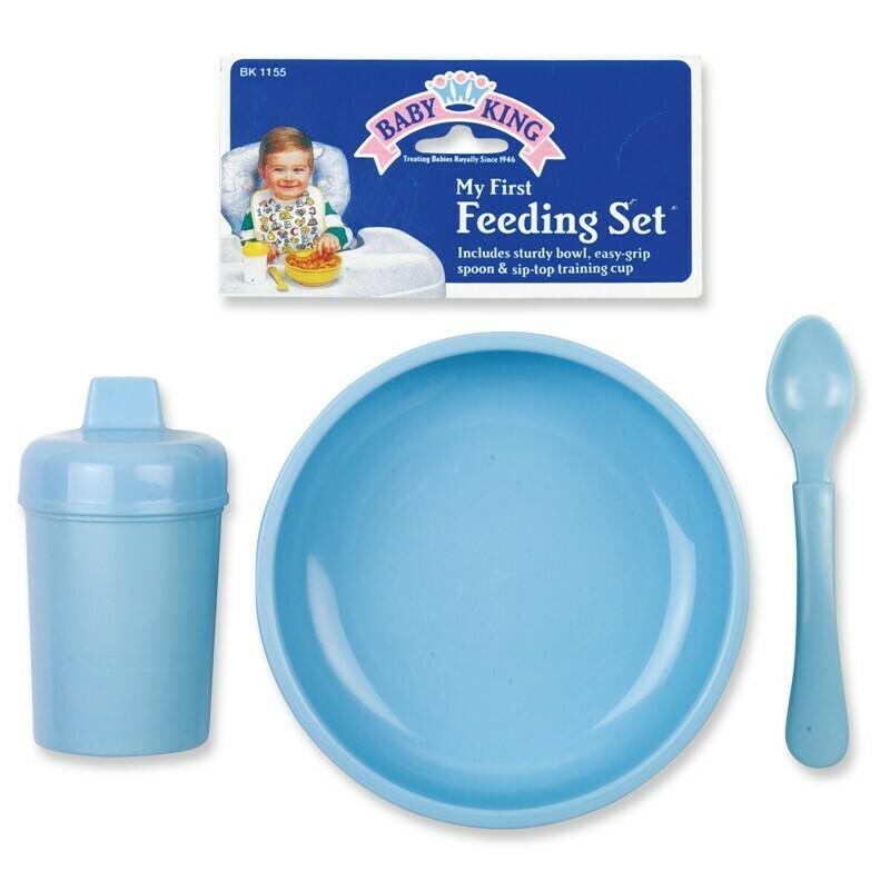 3 pc. Feeding Set - Blue