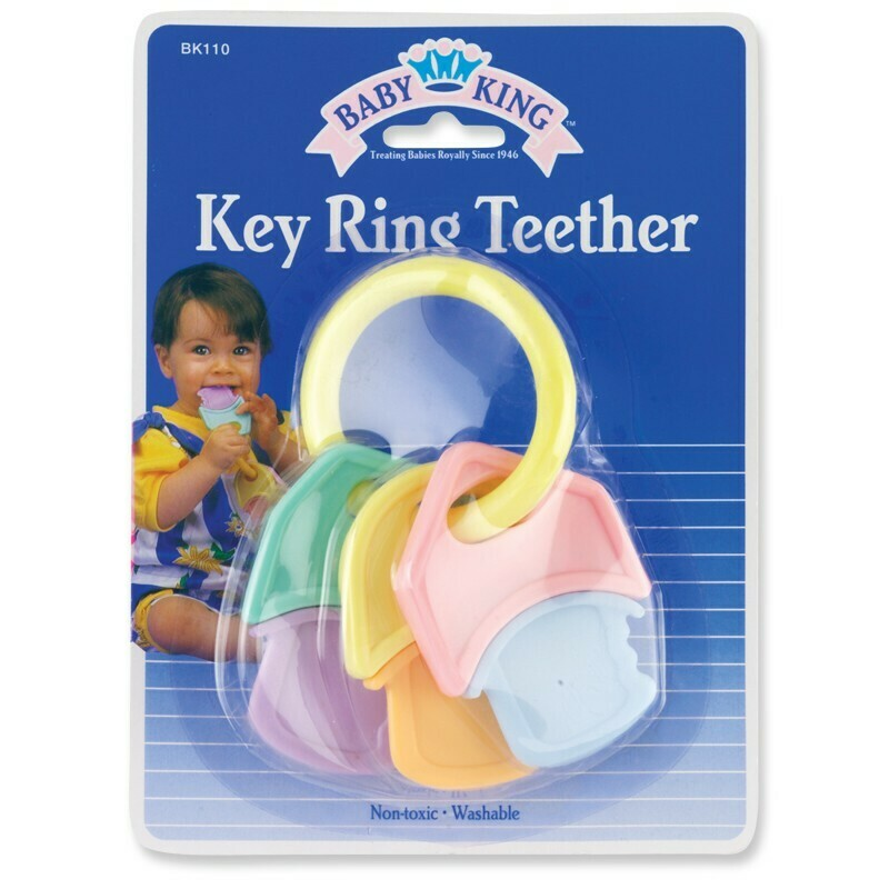 Teether Hard/Soft Keys