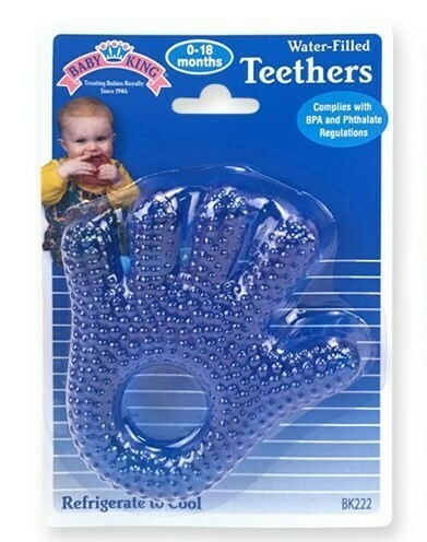 Water-filled Hand & Foot Teether - Blue