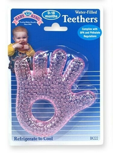 Water-filled Hand & Foot Teether - Pink