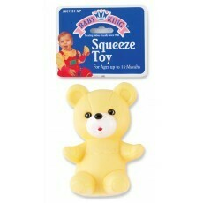 Bear Squeeze Toy - Yellow