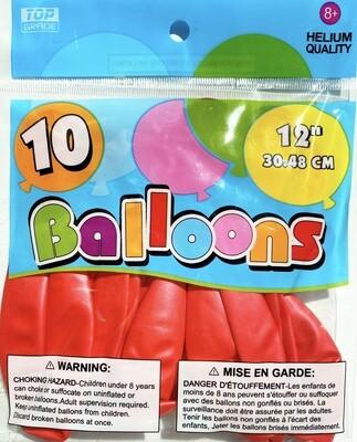 Red Latex Balloon