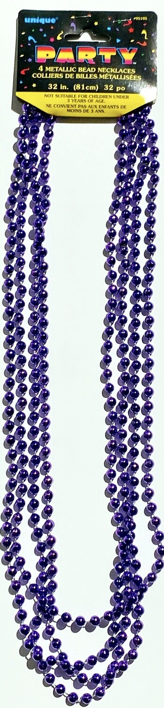 Purple Bead Necklaces