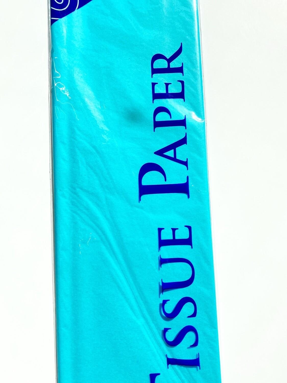 Turquois Tissue Paper