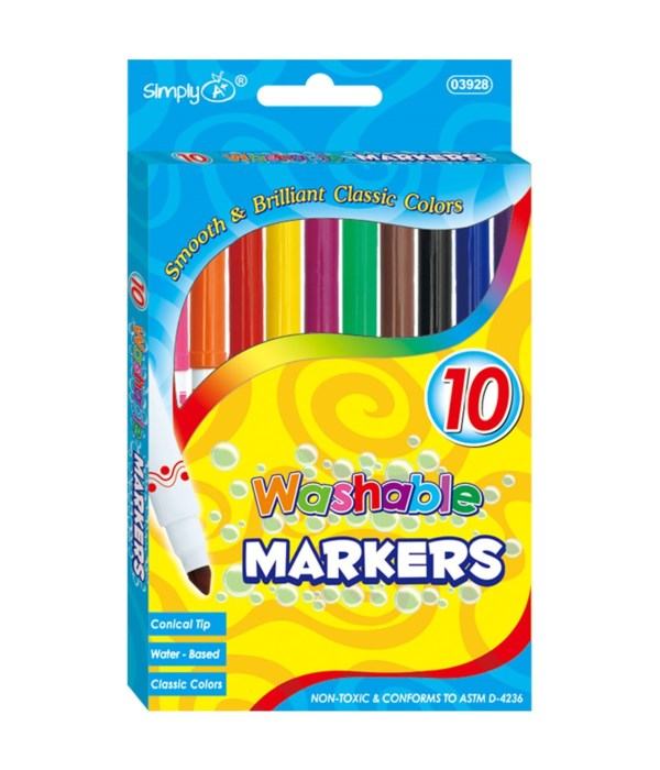 Washable Markers (Thin)