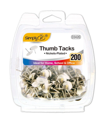 Silver Thumb Tacks
