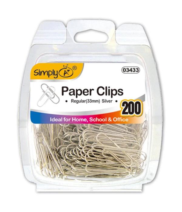 Silver Paper Clips (Regular)