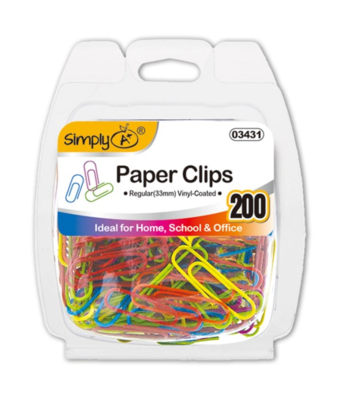 Colored Paper Clips (Regular)