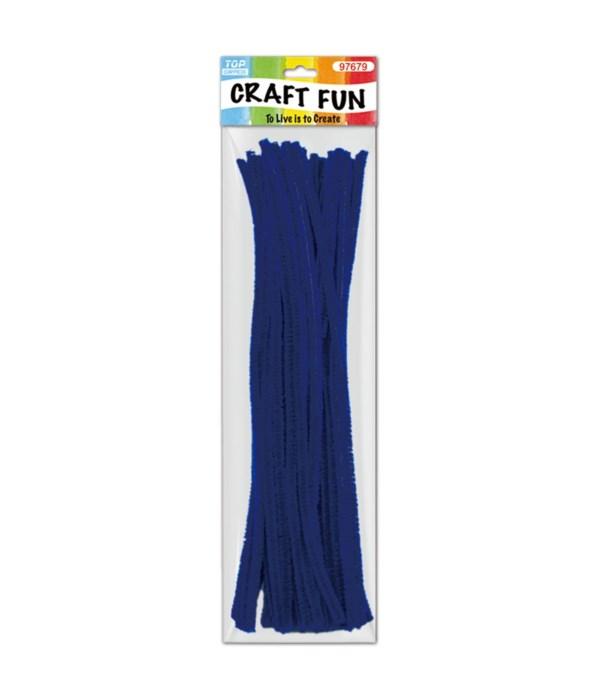 Dark Blue Chenille Stem/ Pipe Cleaner
