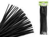 Black Chenille Stem/ Pipe Cleaner