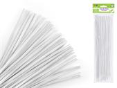 White Chenille Stem/ Pipe Cleaner