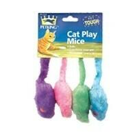 4 Pack Catnip Mice