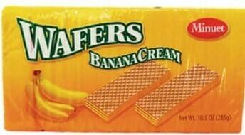 Banana Cream Wafers