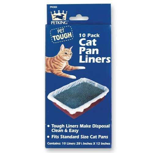 10 Pack Cat Pan Liners
