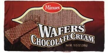 Chocolate Cream Wafers