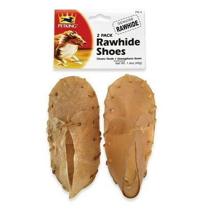 2 Pack Rawhide Shoes