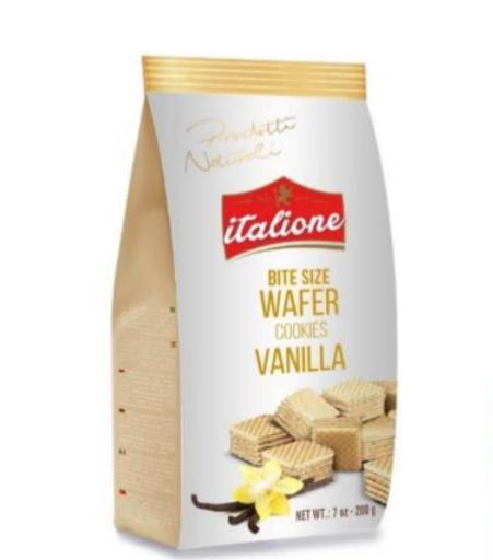 Bite Size Vanilla Cream Wafers