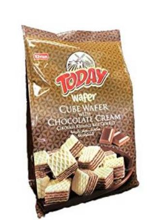Bite Size Chocolate Cream Wafers