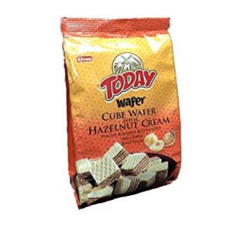 Bite Size Hazelnut Cream Wafers
